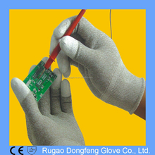 Copper Nylon Full Fingered Work General Purpose Conductive Gloves
