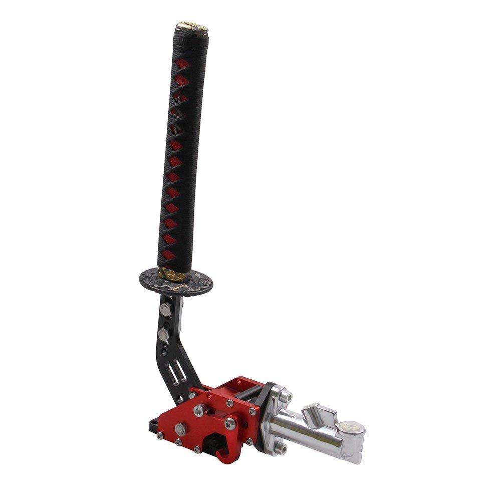 Universal Car Hydraulic Handbrake Racing Handbrake Drift Hand Brake Parking Katana Handle Red