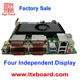 AMD A10 Quad Core industrial motherboard with four independent display