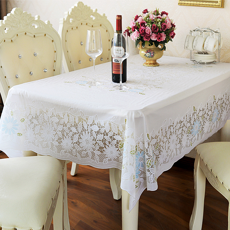Waterproof printed PVC plastic tablecloth