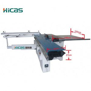 Heavy Duty Wood Cutting Tools Sliding Table Saw Machine With Scoring Blade