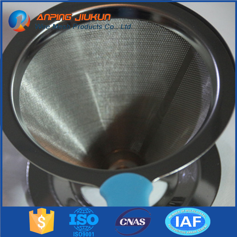 Hot selling aerobie aero press spare parts micron stainless steel filter wire mesh screen coffee filter with CE certification