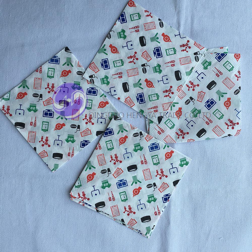 Custom Printed Paper Napkins