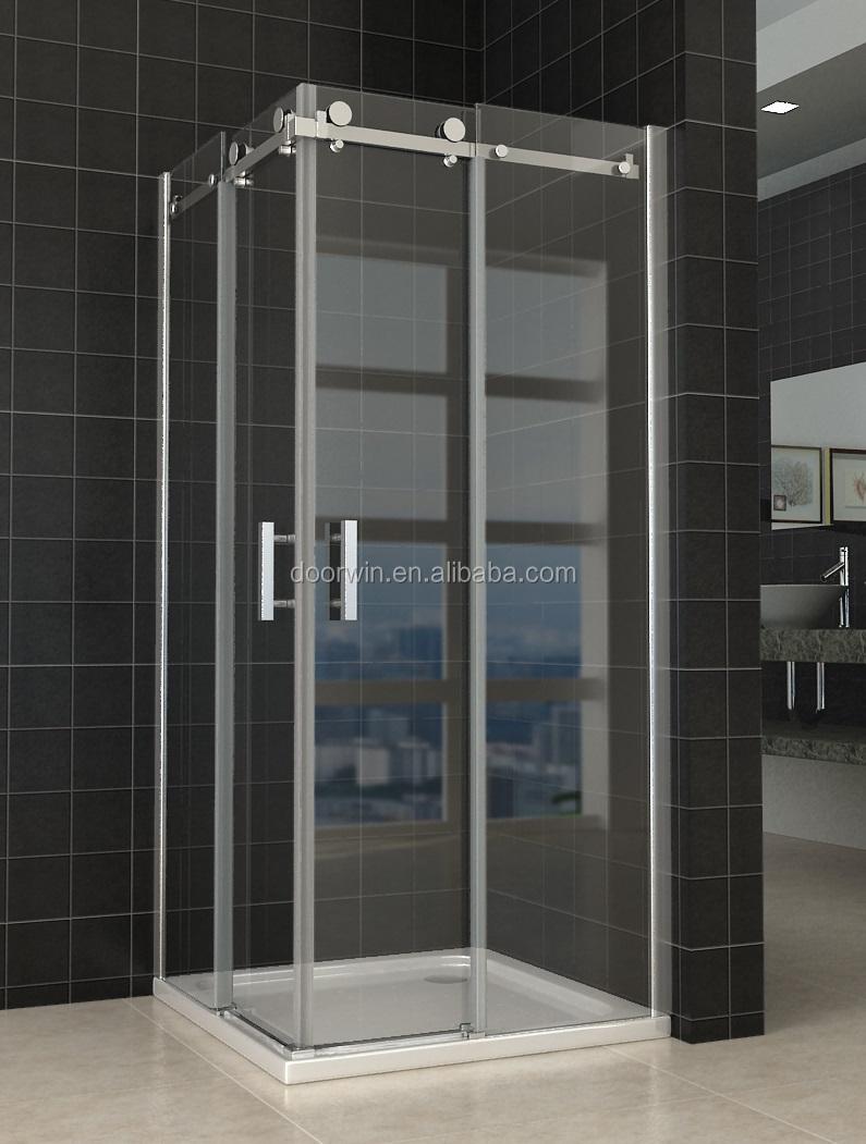 Modern House Bathroom Frameless Sliding Glass Shower Door Price Buy Shower Enclosures Glass