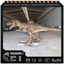 CET-V-2117 Amusement Games Outdoor Animatronic Whole Sale Dinosaur and Fiberglass T-Rex Dinosaur Statuee dinosaur model