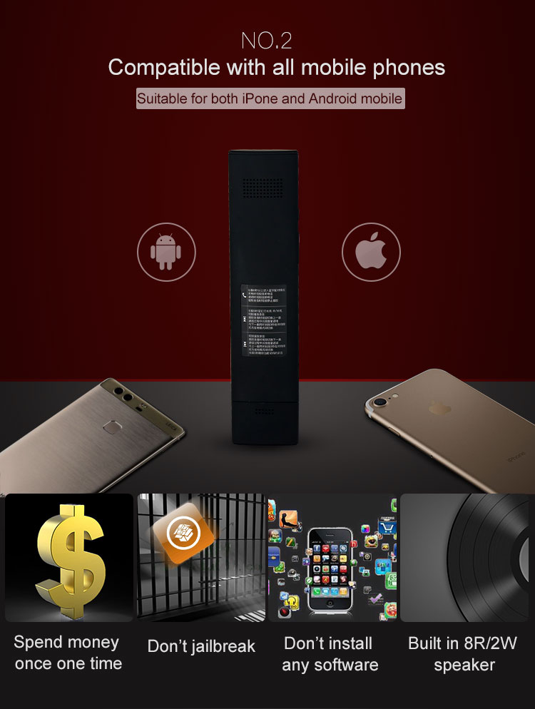 Automatic Answer Wireless Hidden Voice Recorder Call Recorder for iPhone Android Phone Calls Recording