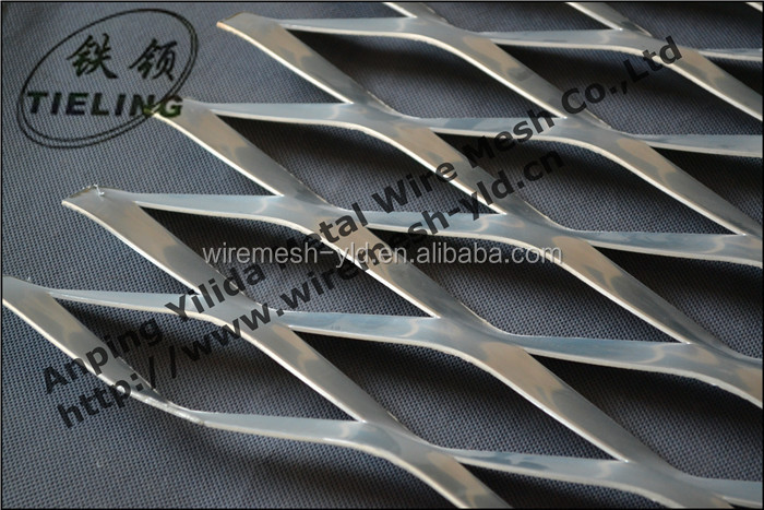 Aluminum Expanded Metal Sheet For Architectural Screens