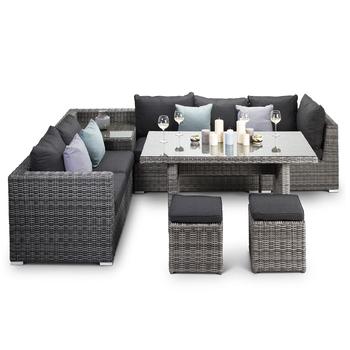Rattan Rope Wicker Furniture Sofa Sets