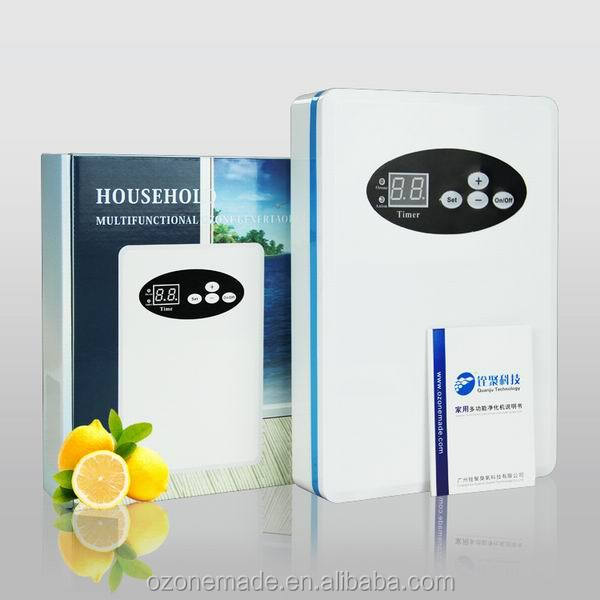 portable and movable home corona discharge ozone generator,vegetable fruit meat product purification
