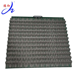 Effective filtering area equipment solids control XH-09 oil shaker screen