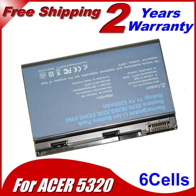 Аккумулятор для ноутбука Acer Extensa 5210 5220 5230 5420 5420G 5610 5620 5620Z 5630 5630G 7220 7620Z TM00741 TM00751