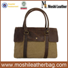 056 Waxed Canvas Laptop Bag Canvas Messenger Bag