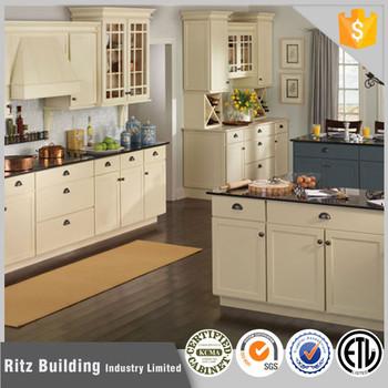 Modern Kitchen Furniture Pvc Kitchen Cabinets Cupboard With ...