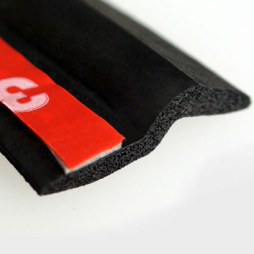 Molding 3m Self Adhesive Rubber Door Seal For Cars Buy