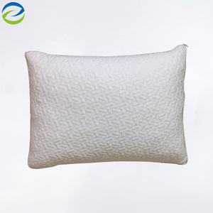 Adjustable Loft & Neck Pain Relief-Shredded Hypoallergenic Certipur Gel Memory Foam Pillow with two Removable Cases