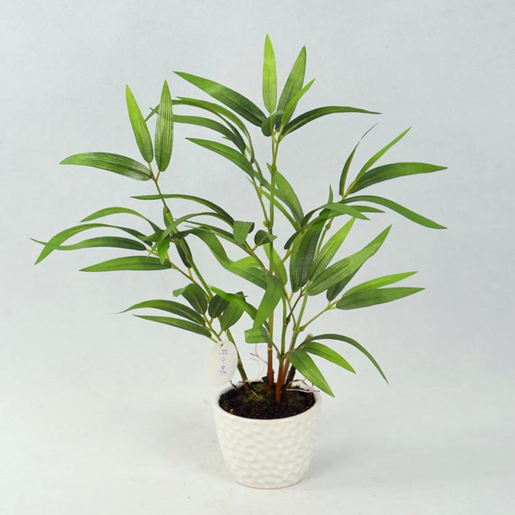 Fuori porta verde artificiale piante di bamb con vaso in for Pianta bambu prezzo