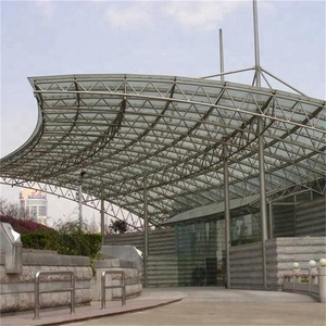 Space Portal Frame Steel Structure Large Span Building Project For Sale