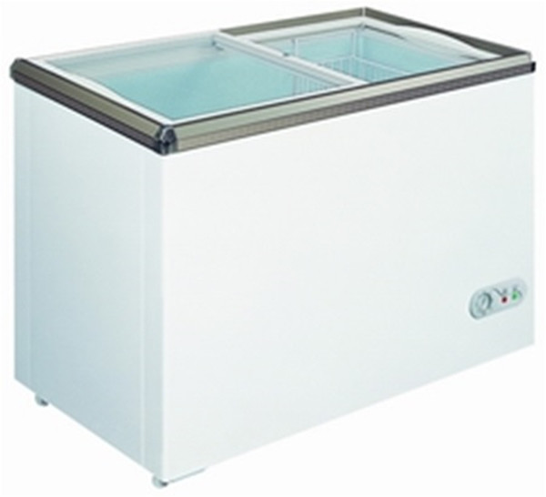 150L/200L Glass door chest freezer