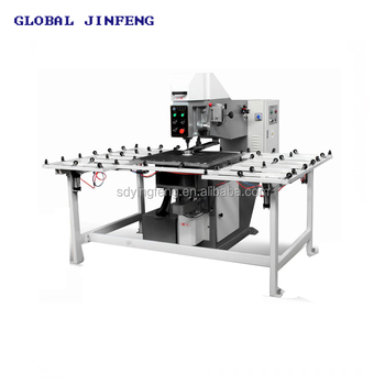 Semi-automatic Horizontal glass drilling machinery for core hole making