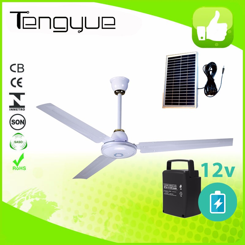 12V DC Ceiling Fan with light and Energy Saving Motor