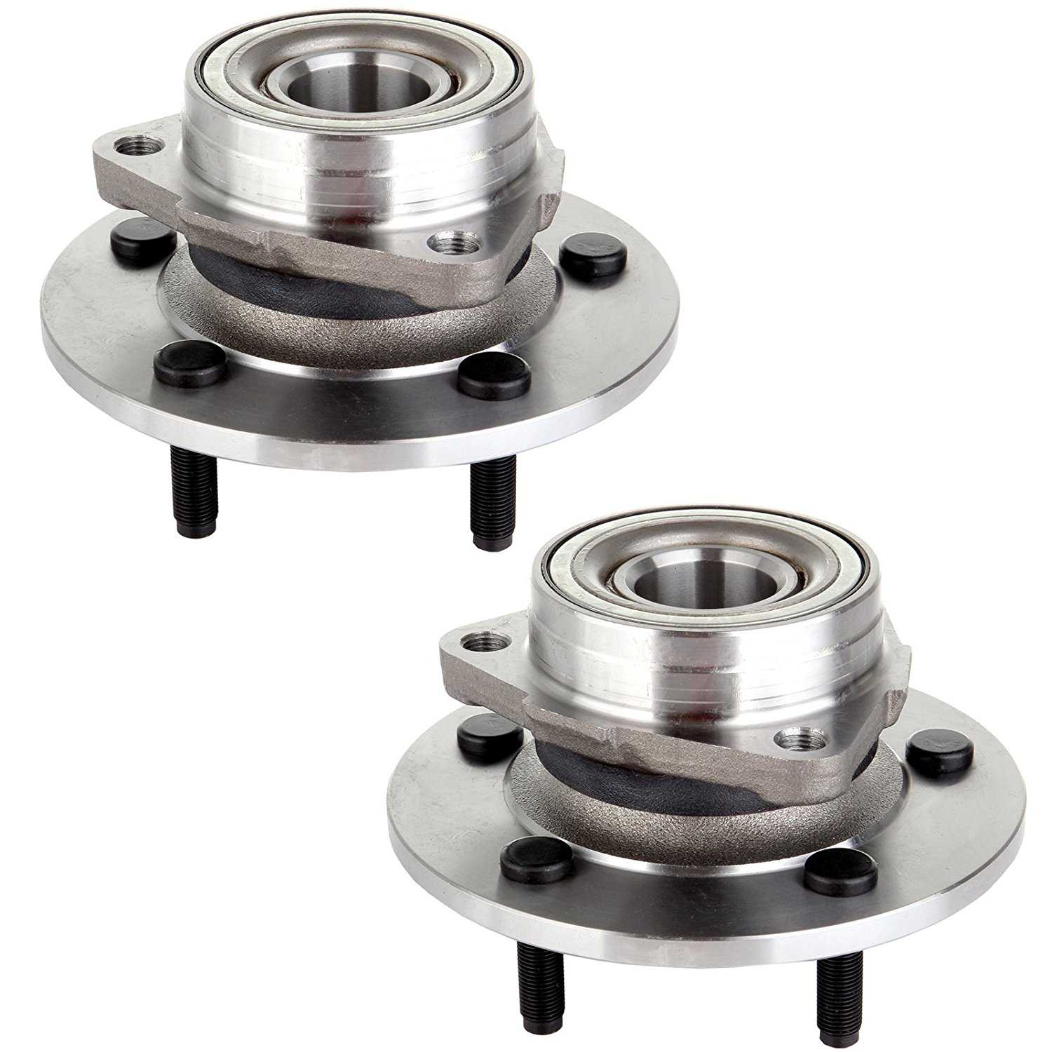 ECCPP Pair Of 2 New Front Wheel Hub Bearing for 00-01 Dodge Ram 1500 4WD 515038 X 2
