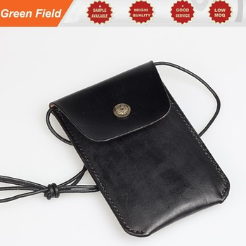 new arrival 4f527 fa74f Leather Cell Phone Neck Pouch,Small Cross Body Pouch Leather Cell Phone  Neck Pouch - Buy Leather Cell Phone Neck Pouch,Designer Cell Phone ...
