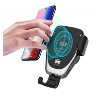 2019 Trending Innovative Products Top Wireless Charger Car Mount Adjustable Gravity Air Vent Phone Holder