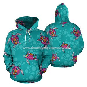 latest hawaiian hoodie shirt design for women wholesale custom sublimation print turtle pattern xxxxl jumper hoodies sweatshirts