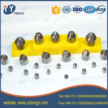 tungsten carbide tipped drill bits button