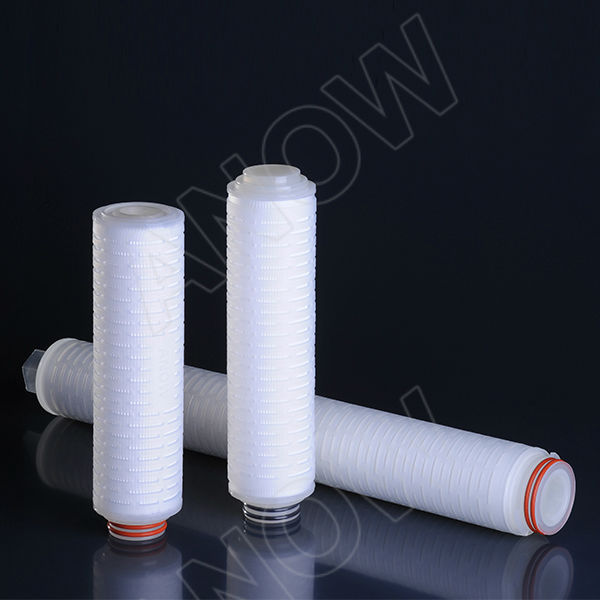 MF 1.0 micron PP Pleated Cartridge Filter for Sea Water Treatment Microfiltration