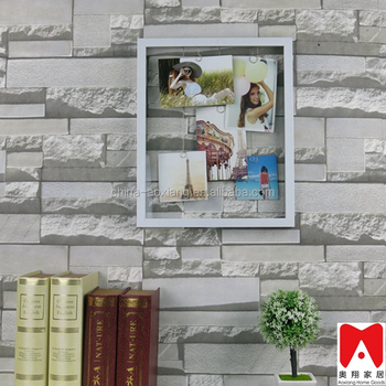 China Direct Manfacturer Plastic Glass Wooden Picture Frame Home ...