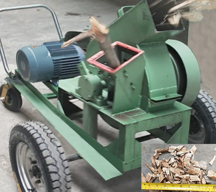 Disk Wood Chipper
