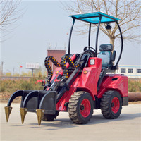 mini wheel loader with Euro 3/EPA Tier 4 standard