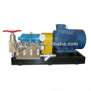 HS90 high pressure triplex plunger pump/high pressure cleaner/water washer for industry cleaning in China factory