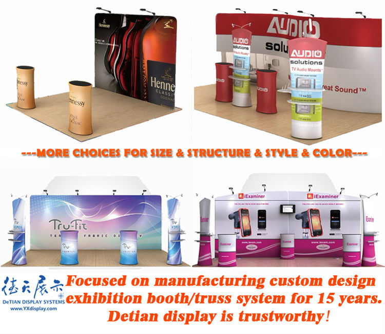 Fabric Exhibition Stand Years : Fashionable fabrics exhibition stall stands display made