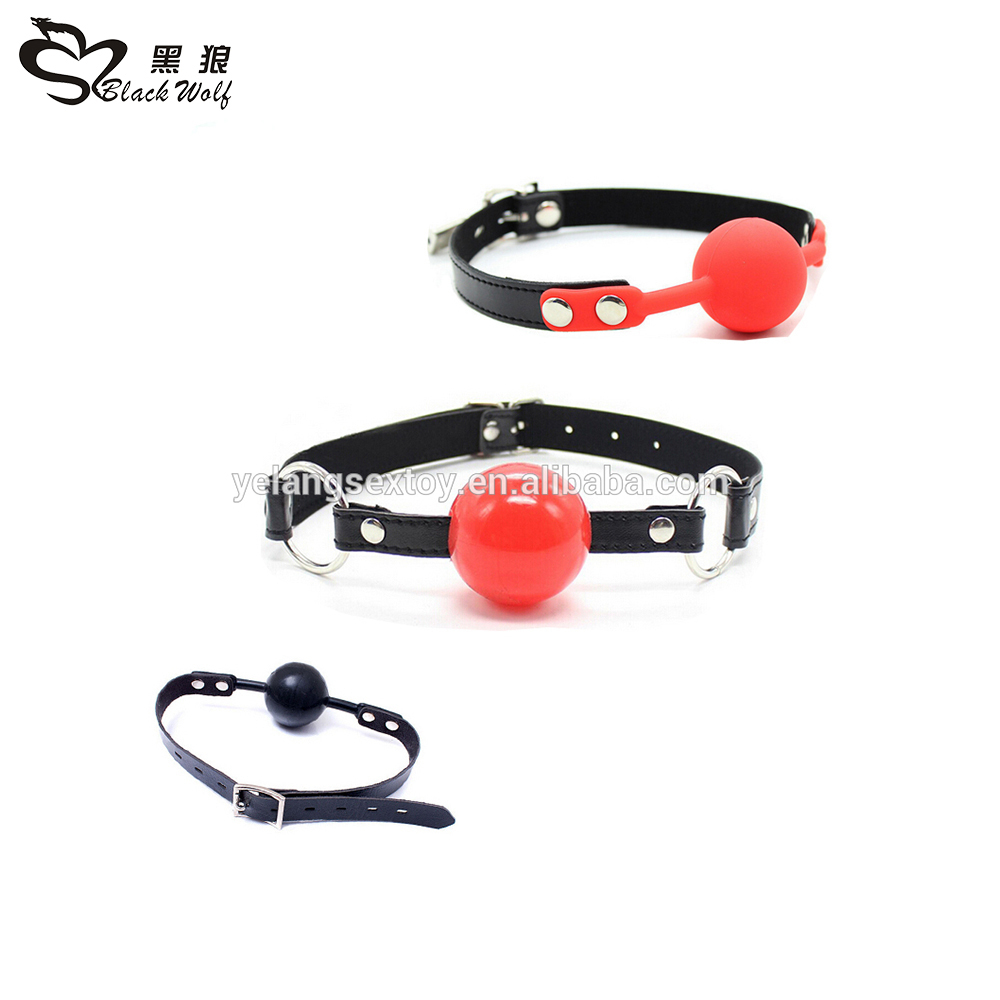 2016 New Novelty Soft Bondage Ball Gags , Mouth Gags , Sex Adult Toy Gags