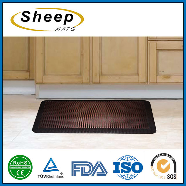 Good Quality Anti Fatigue Kitchen Counter Mat With Weave