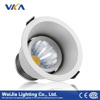 cob ce ul rohs approved 4 inch led ceiling downlights ip44