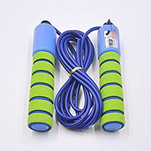 Queenbuygo Adjustable Kids Jump Rope with Counter and Comfortable Handles