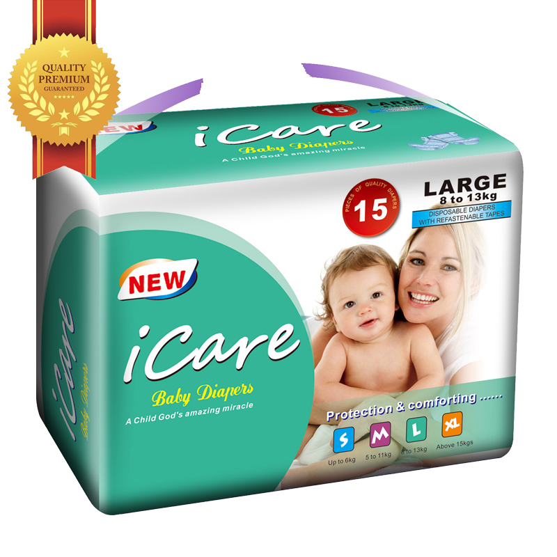 New Coming Wholesale Price Top Quality Free Sample Baby Diaper Spain Wholesale from China