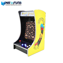 Li Fun Bar Game Machine Muntautomaat Games led cocktail tafel Arcade Game Machine mini cocktail bartop arcade kast