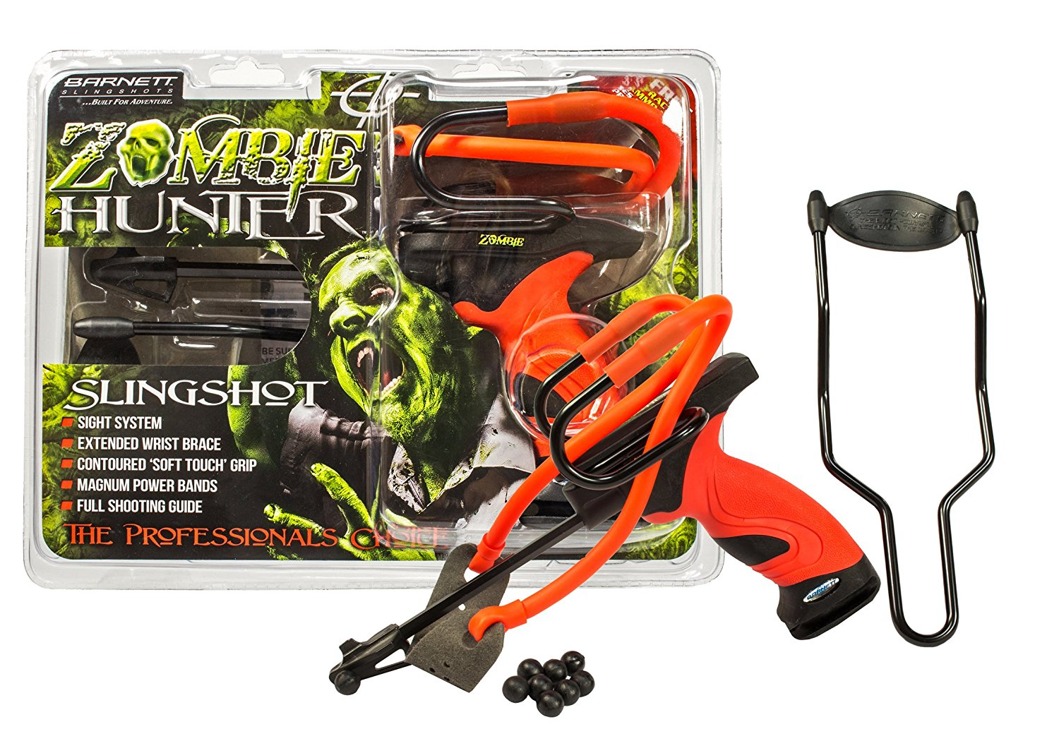 Magnum with Leather Pouch Barnett Slingshot Power Bands