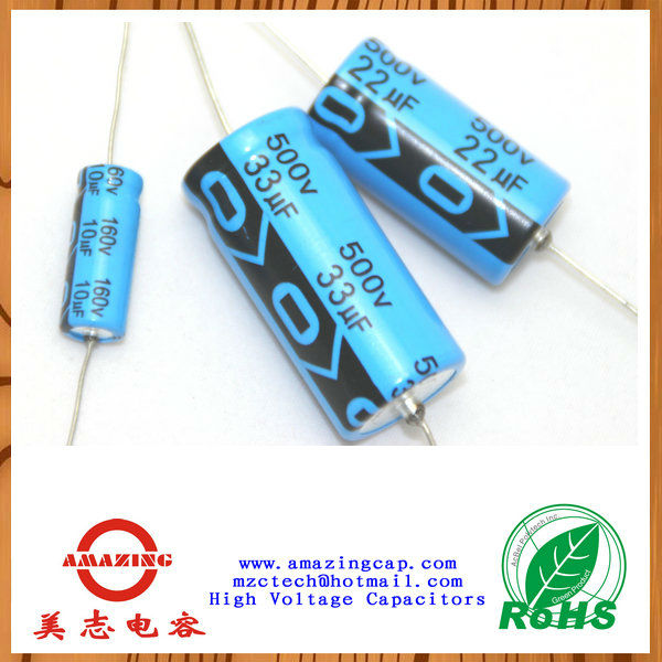 aluminum electrolytic capacitors manufacturers / lead type 400vdc 0.022uf