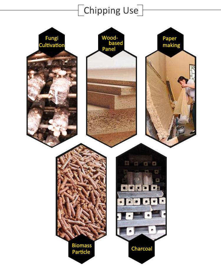 Hot selling jansen gts 1500 e drum wood chipper price