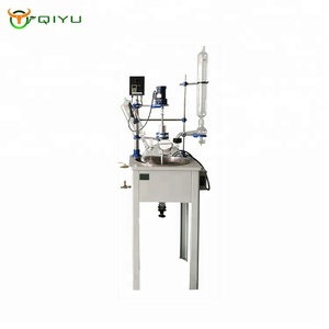 Lab Electric Heating Single Layer Glass Reactor