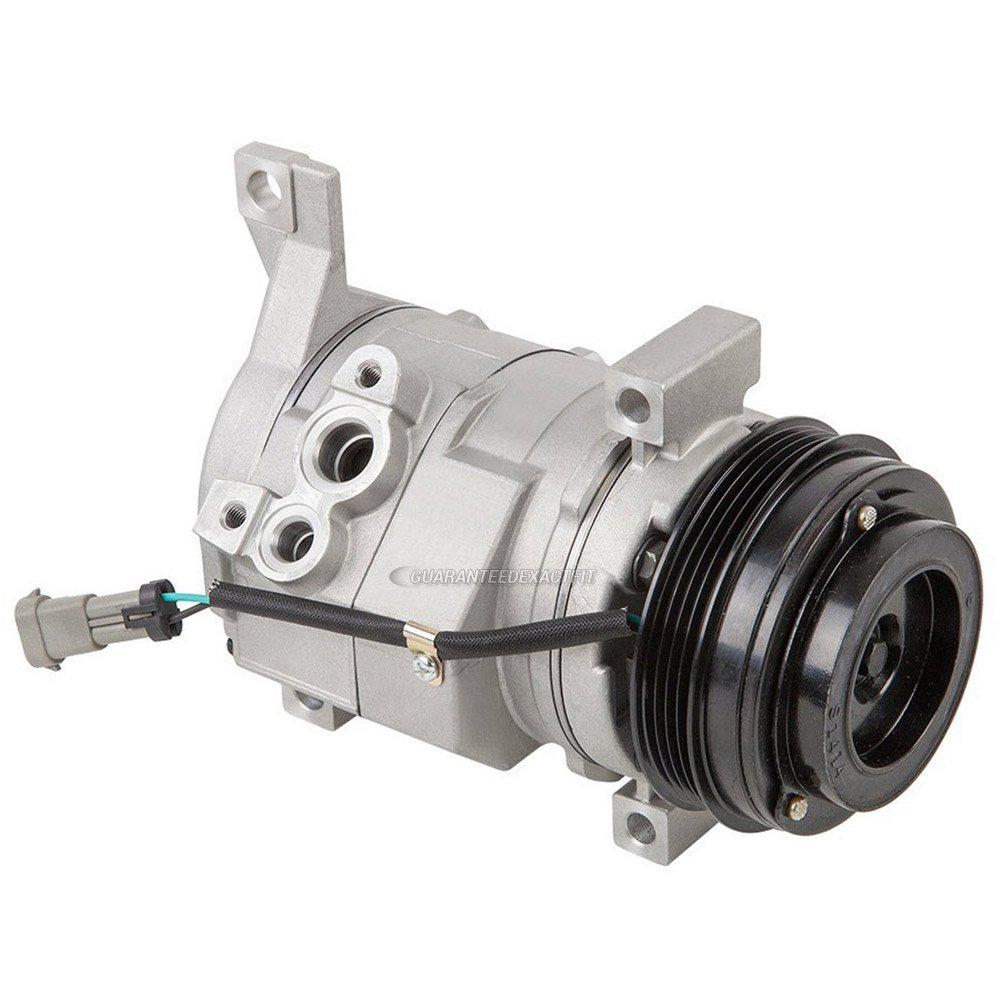 Brand New AC Compressor & A/C Clutch For Chevy GMC Cadillac And Hummer - BuyAutoParts 60-01588NA New