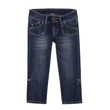 Stretch fashion used jean DS120055