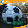 Inflatable prefabricated dome houses air football jumper bouncy for kids party