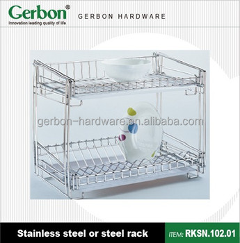Under Cabinet Dish Drying Rack