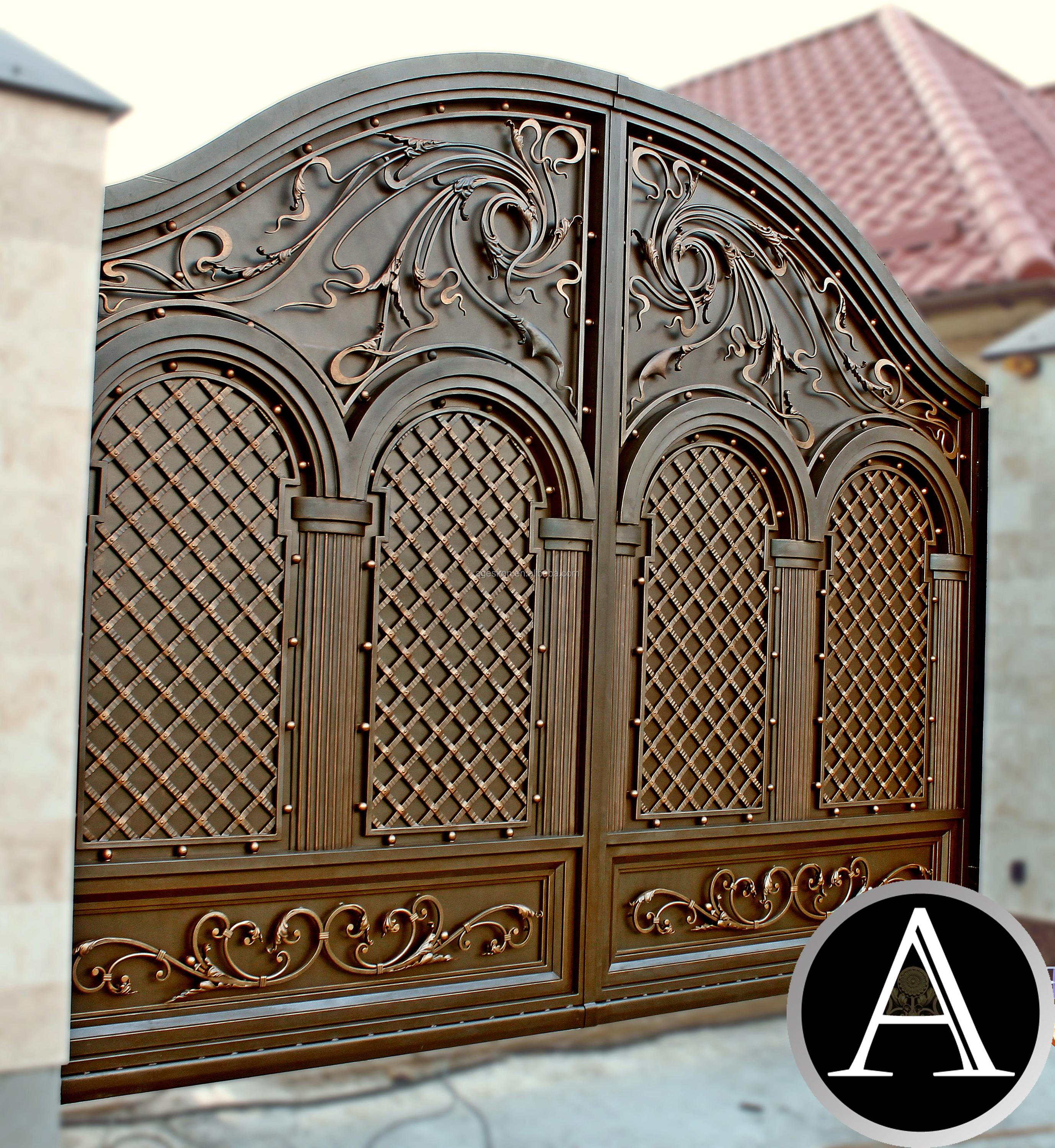 Source steel simple house gate designs on malibabacom t for Main gate designs for farmhouse